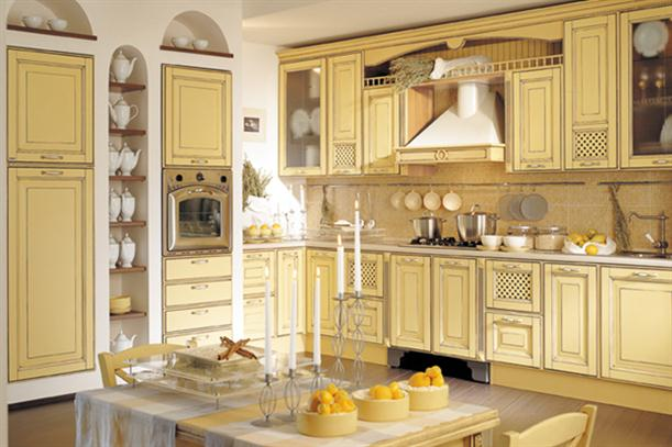 Image of: Ideas for Best Kitchen Cabinet with Modern Decorating-Classic-Country