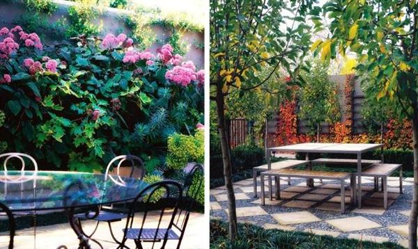 Image of: Outdoor Layout Design with Furniture Ideas by Eckersley Garden Architecture Flower-Outdoor