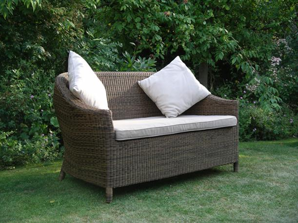 Image of: Simple Outdoor Chair Cushion Designed from Rattan for Garden Furniture chloe sofa