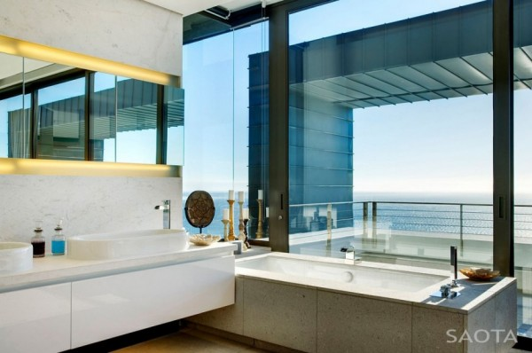 Image of: The House Face for Nettleton 199 House with Atlantic Ocean View Bahtroom-Design