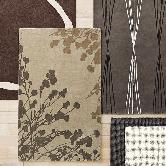 Image of: Detail-of-Asian Rugs Style with Contemporary Design Called Beautiful Sakura Rug