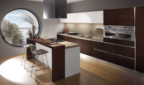 Image of: Italian Interior Kitchen Designs with Modern Originality and Style luxury front