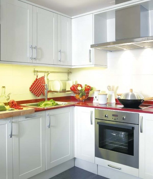 Image of: Kitchen Designs Ideas for your Small Space Kitchen view