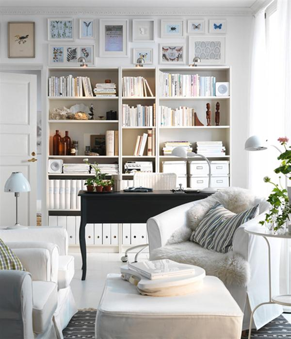Image of: New Ikea Living Room Decorating Ideas For 2017 White French Beige