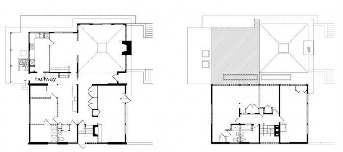 Image of: Plan-Picture Modern House Renovation Mid Century in Conshohocken – Pennsylvania