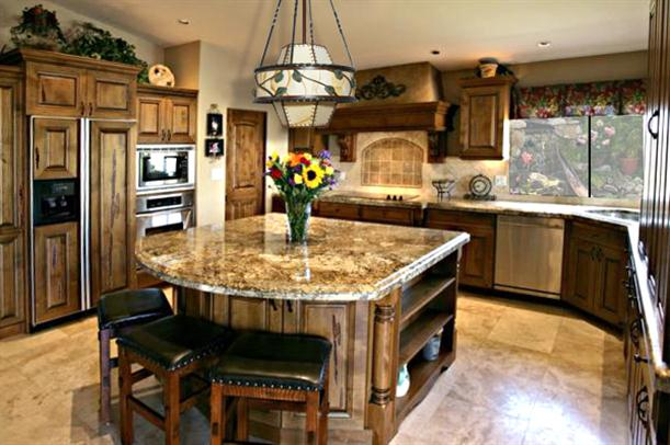 Image of: Tips to Choose Kitchen Island with Seating-classic-style
