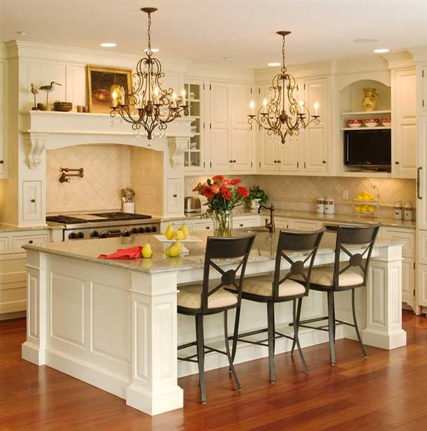 Image of: Tips to Choose Kitchen Island with Seating-with-seating-and-storage