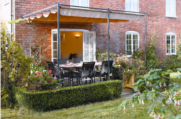 Image of: Garden Furniture Ideas from Argos with canopy