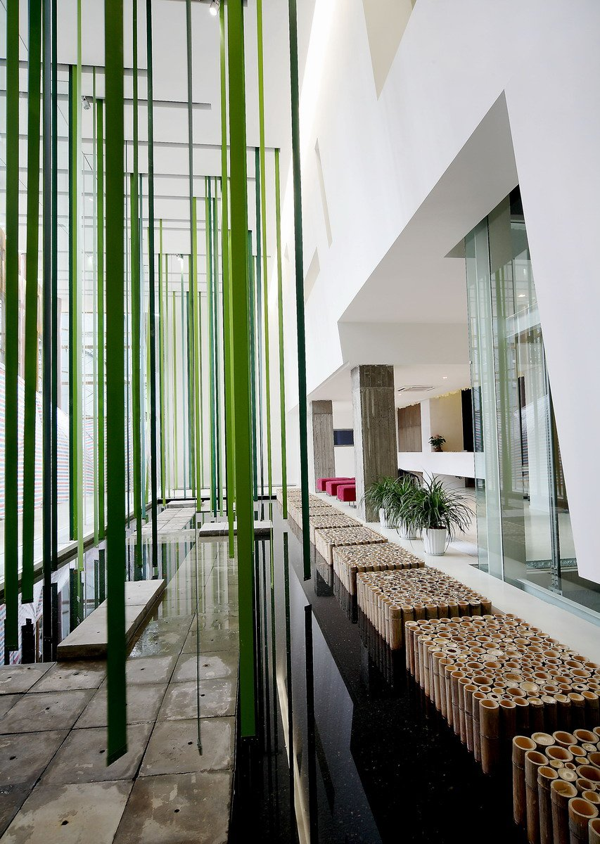 Image of: Outdoor-Design-Contemporary Office Interior Called Mochen Office Interior in Beijing, China