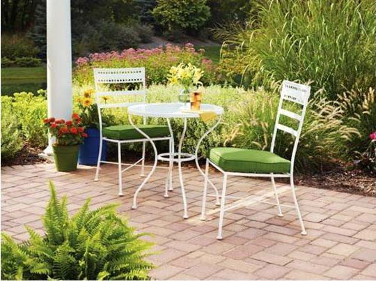 Image of: minimalist Patio Furniture Sets for Decorate your Outdoor Living