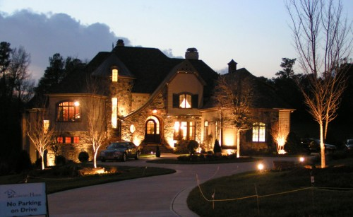 Image of: Exterior House lighting Ideas for Your Modern House classic