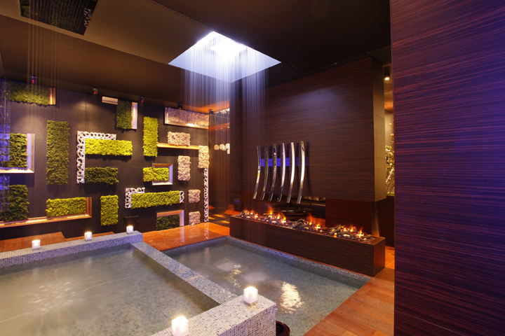 Image of: Interior Spa Design with Colourfull Theme view 2