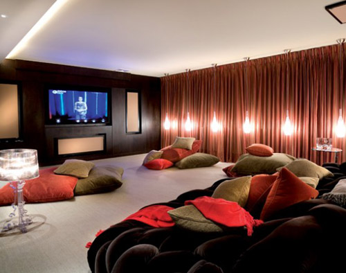 Image of: home theater at Interior Design for Your Modern Home with 7 Cool Ideas