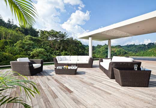 Image of: outdoor Modular Lounge Furniture for All Weather midulkurv
