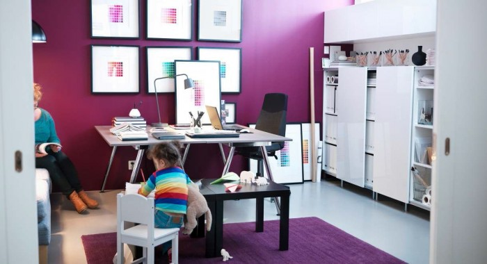 Image of: IKEA Workspace Design 2017 With 4 Top Idea View 2