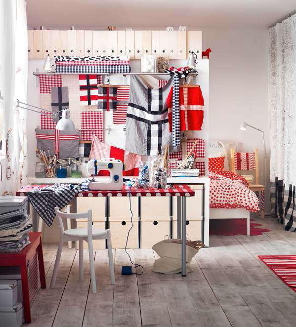 Image of: IKEA Workspace Design 2017 With 4 Top Idea View 3