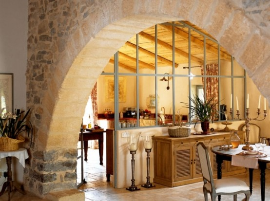 Image of: Traditional House Design in French with Classic Interior view 2