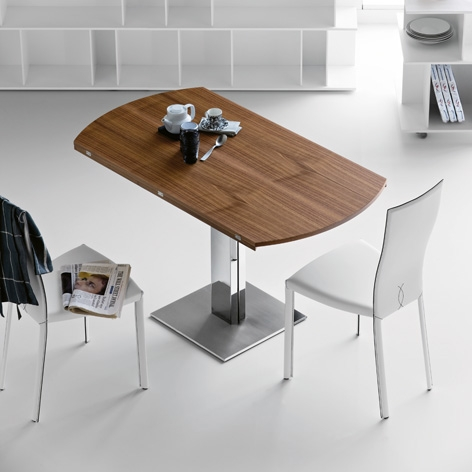 Image of: Wood Dining Room Table with Cool Design by Cattelan view 2