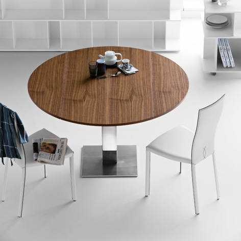 Image of: Wood Dining Room Table with Cool Design by Cattelan view