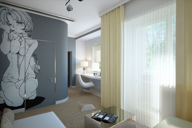 Image of: Decorated Room Ideas view wall-mural