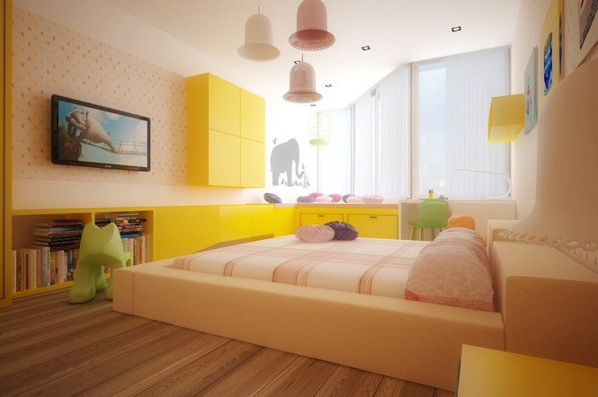Image of: Kids Bedroom Decoration Ideas with Top 8 Designs view Colorful theme