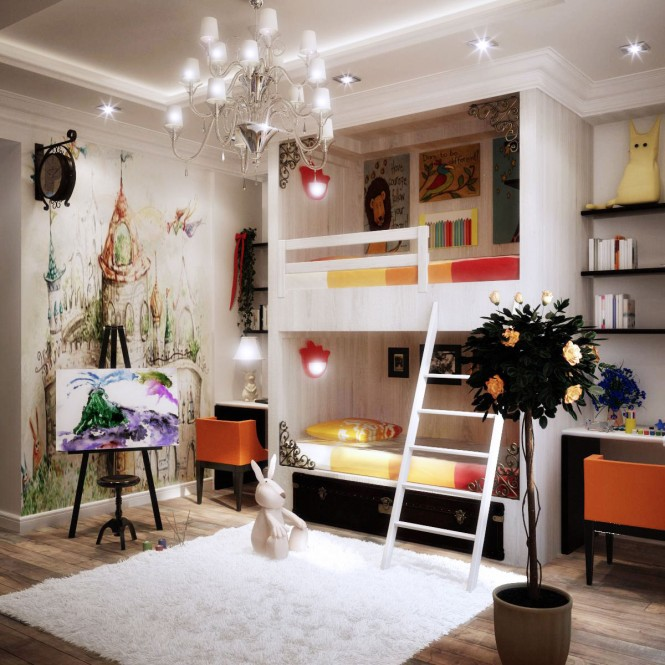 Image of: Kids Bedroom Decoration Ideas with Top 8 Designs view Shared