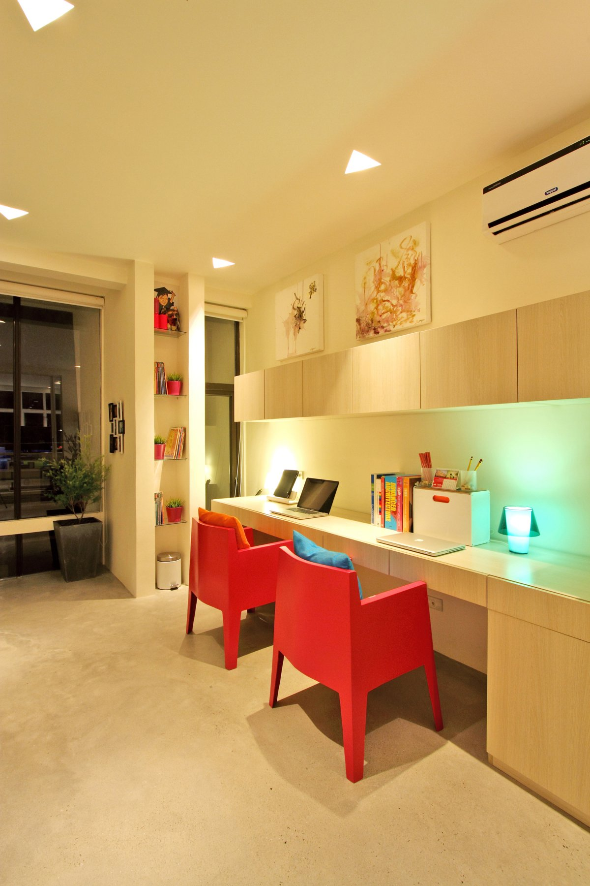 Image of: Modern Townhouse Design with Manila Based Archietctural view Home-Office