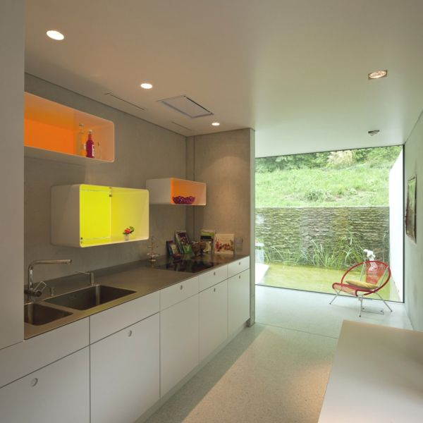 Image of: Nature House plans view kitchen