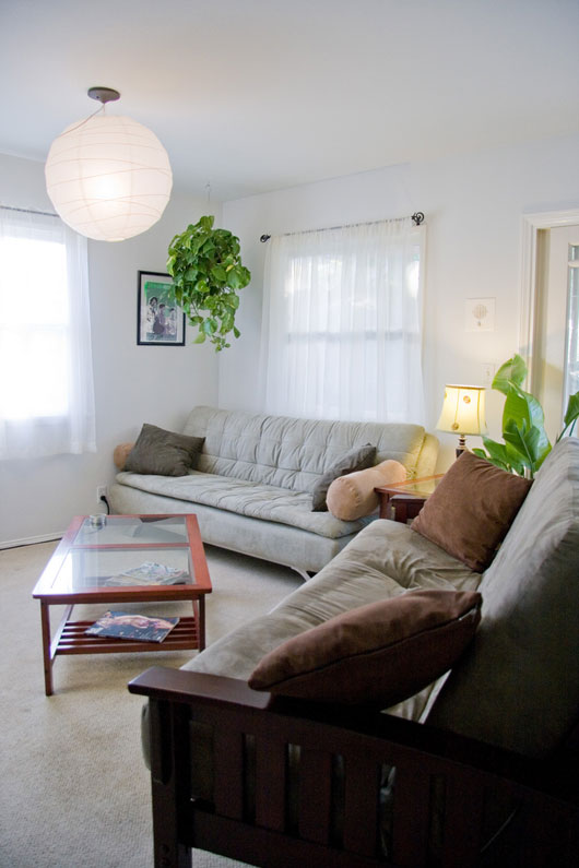 Image of: Room Interior Design with The Plant Into a Room view ceiling plants