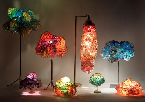 Image of: Room Lamps Idea with 10 Cool Designs view Living-Pixels-Lighting-via-Inhabitat