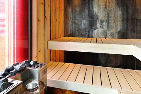 Image of: Sauna for Home with Wooden Material by Kung Sauna tipe 2 view
