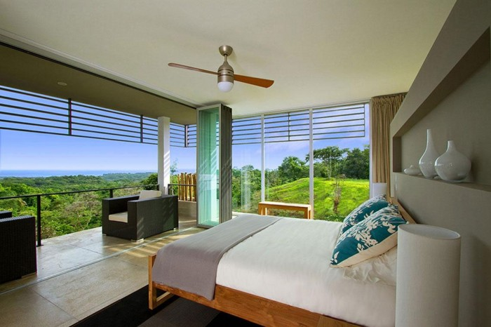 Image of: You Must Visit Tierra Villa Vacation Home in Costa Rica view Second-Floor-Bedroom