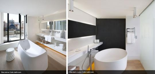 Image of: Bath Fixtures Ideas in Barcelona
