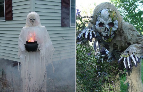 Image of: Halloween Outdoor Decorations