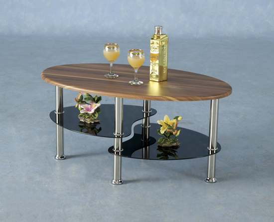 Image of: Hollyville Glass Coffe Table