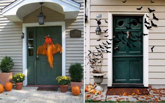Image of: Outdoor Halloween Decorations Style