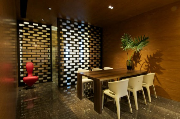 Image of: dining room design in New Delhi