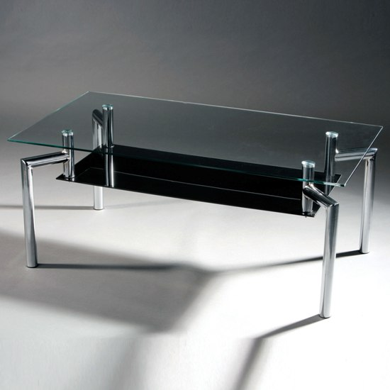 Image of: glass coffee tables design