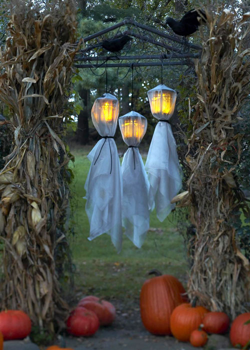 Image of: halloween decorations outdoor