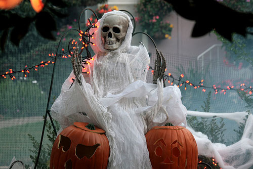 Image of: halloween outdoor decoration