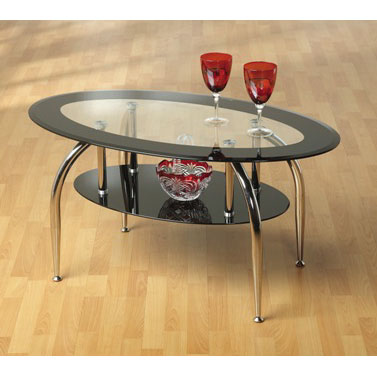 Image of: modern coffee tables black caravelleB