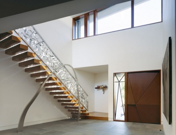 Image of: stair at Glenbrook Residence