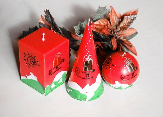 Image of: Christmas Candle Ideas for Your Great Decoration 1