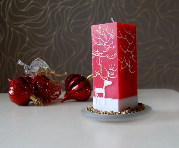 Image of: Christmas Candle Ideas for Your Great Decoration 3