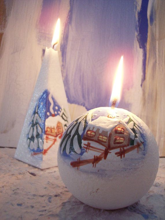 Image of: Christmas Candle Ideas for Your Great Decoration 5