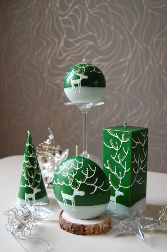 Image of: Christmas Candle Ideas for Your Great Decoration 6