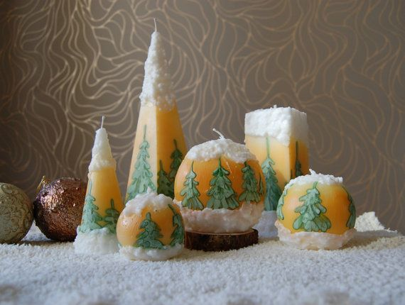 Image of: Christmas Candle Ideas for Your Great Decoration The-Snowdrift