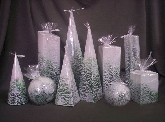 Image of: Christmas Candle Ideas for Your Great Decoration Winter