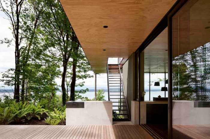 Image of: Small House Design Looks Comfortable in Washington State 4