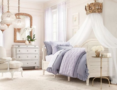 Image of: Affordable and Elegant Canopy for Bed's Girl